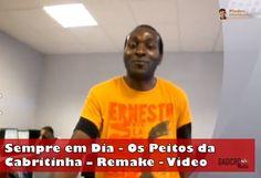 Sempre em Dia – Os Peitos da Cabritinha – Remake  A primeira aparição em público  Kuduro, Pimba, Samba, Forró, Kizomba, Semba.  Angola, Portugal e Brasil.  O Artista da Lusofonia.  Veja o vídeo:  http://www.youtube.com/watch?feature=player_embedded&v=lqMa-47zyuQ  #gagicrcmedia #piadas #humor #sociedade #angola #artista #brasil #entretenimento #forró #kizomba #kuduro #lisboa #lusofonia #pimba #portugal #samba #semba #sempreemdia #video — em Lisboa, Portugal.