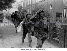 events, Second World War / WWII, Netherlands, Arnhem, 17. - 25.9.1944, soldiers of the British 1st Airborne Division - Stock Photo