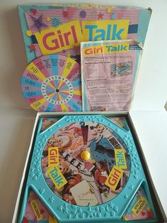 Girl Talk Truth Or Dare Board Game Vintage Golden 1988 Complete 1st Edition Fun #Golden