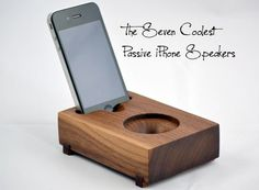 The Seven Coolest Passive iPhone Speakers (No Batteries Required!)
