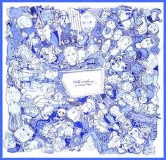 Métamorphoses par Hermès-Paris, Carré en twill de soie, roulotté à la main 59f7bf0d8bb