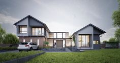HOUGHTON HOUSE   Urban Habitat Architects Houghton House, Rustic Houses, Geometric Form, Natural Materials, Contemporary, Modern, Architects, House Design, Urban