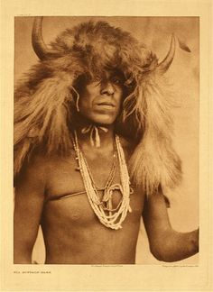 """Cuerno Verde (Green Horn) could have a very similar appearance to the Comanche warrior photographed by E. S. Curtis. (Cuerno Verde, which translates to """"Green Horn"""" in English, is the Spanish name given to Tabivo Naritgant)."""