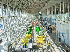 新たな国際線ターミナルもオープン 関西国際空港の進化は止まらない 今日の絶景 365日、ヴァーチャルな旅へ CREA WEB(クレア ウェブ)