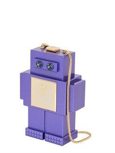 THE ROBOT PERSPEX SHOULDER BAG