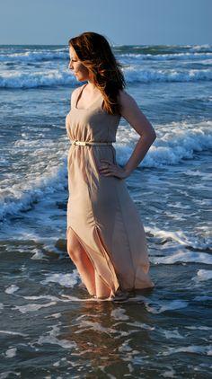 beach senior picture