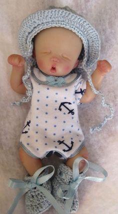 Ooak baby boy , Westin, 4.5  jointed full sculpt, Artist Original Sculpt    eBay