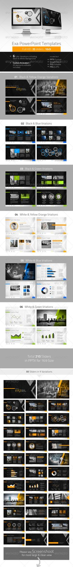 Exa Creative PowerPoint Presentation - Presentation Templates