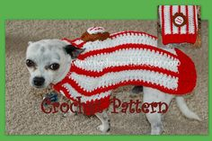 Instant Download Crochet pattern  Baseball Dog by poshpoochdesigns, $4.99