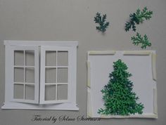 susans garden christmas door and wreath - Google Search
