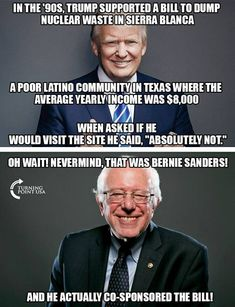 My Ultra-Post of reasons Bernie is NOT the saint his cult wants you to think he is (Caution LOOOOOOONG post) Liberal Hypocrisy, Liberal Logic, Socialism, Politicians, Communism, Donald Trump, Conservative Politics, Conservative Quotes, Sick