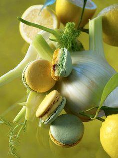 AOUT | JARDIN D'ETE - Citron & Fenouil caramélisé, via Les Jardins: une gamme de macarons signée Pierre Hermé