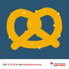 Did you know you lose 3g of salt when donating blood? A biscuit may not be the right snack for everyone post-donation, so be sure to top up your stores after your donation with a bag of pretzels or another savoury snack.
