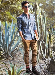 David Guison | Clarks #DesertBoots | #fallstyle