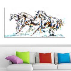 <li>Wild Horses- Animal Art Canvas - Multiple Sizes</li> <li>Product type: Gallery wrapped canvas</li> <li>Style: Contemporary</li>