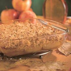 Croustade aux pommes et à l'érable - Recettes - Cuisine et nutrition - Pratico Pratique