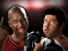 Key and Peele on Epic Rap Battles doing great impersonations of two iconic sports stars. www.findaballer.com