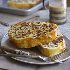 Almond Ciabatta French toast - 25 Great Brunch Recipes - Health Mobile