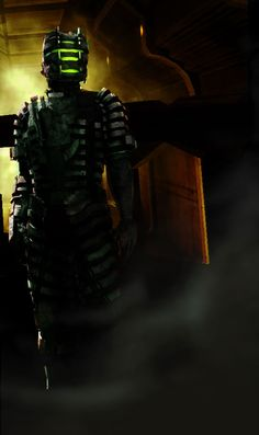 Isaac in Elite Advanced Suit