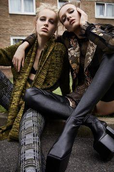 Harper's Bazaar Russia August 2016 Alicja Tubilewicz and Anine Van Velzen by Agata Pospieszynska