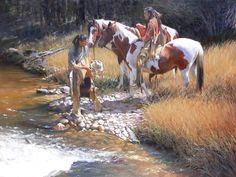 john fawcett paintings | John Fawcett | Riding High - Southwest Art Magazine