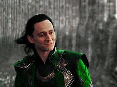 "tom hiddleston — darlingjarvis: ""Are you mad?"" ""Possibly."""