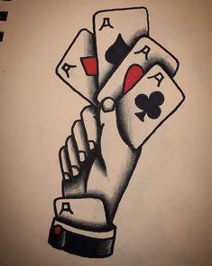 - my tattoos - # tattoodesıngman -. - (notitle) – my tattoos – # tattoodesıngman (notitle) – my tattoos – # - Traditional Sleeve, Traditional Tattoo Man, Traditional Tattoo Old School, American Traditional Tattoos, Luck Tattoo, Card Tattoo, Body Art Tattoos, Tattoo Drawings, Sleeve Tattoos