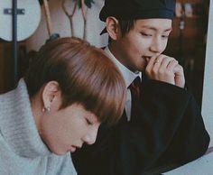 """taekook having draw dates together is going to be the cutest concept ever"" Taekook, Namjin, K Pop, Taehyung, Wattpad, Bulletproof Boy Scouts, Bts Group, Bts Members, Bts Bangtan Boy"
