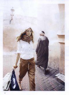 Harper's Bazaar Editorial Marrakech Moment, March 2010 Shot #2