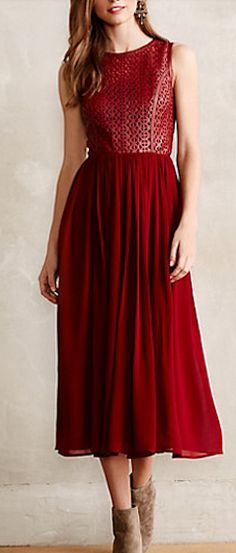 Lasercut leather dress #anthrofave http://rstyle.me/n/sfendnyg6
