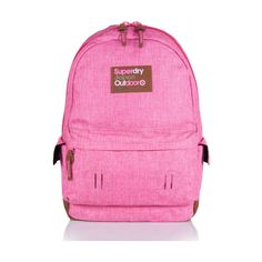 a4da72eaabee8 Shop Superdry Womens Contrast Montana Rucksack in Dawn Pink Marl. Buy now  with free delivery from the Official Superdry Store.