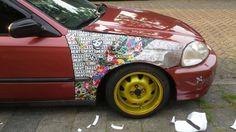 Bassment Car Sticker-Bomb