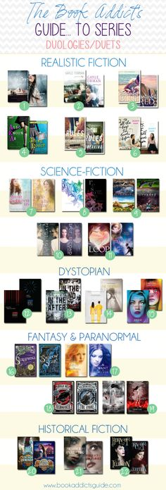 """The Book Addict's """"GUIDE"""" to Series 