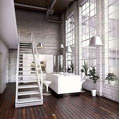 Unique and Lovely #interior #white #decor #love #kitchen