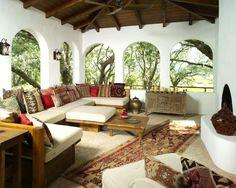 Tribal Decor | Rustic Porch | Home Design | Outdoor | Patio | Living