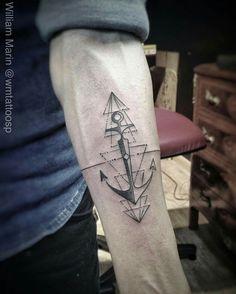 """""""Tatuagem feita por @wmtattoosp=) William Marin -TATTOO YOU- •SP/São Paulo •Rua Tabapuã, 1443. Itaim Bibi •Tattooyou@tattooyou.com.br •3071-1393 #ancor…"""""""
