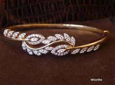 Tips for Buying Diamond Rings and Other Fine Diamond Jewelry Diamond Bracelets, Gold Bangles, Diamond Jewelry, Bangle Bracelets, Diamond Earrings, Bracelet Watch, Real Gold Jewelry, Gold Jewellery Design, Jewellery Box