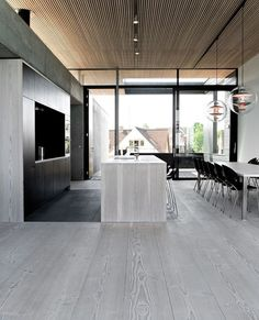 Gray 5mm Vinyl Click Flooring for Room