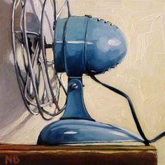 """My Smallest Fan"" - Original Fine Art for Sale - © Nora Bergman"