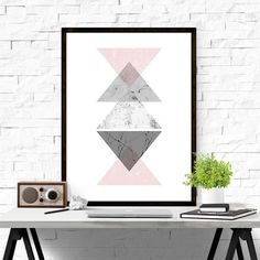 Wall Art download of Geometric Art / by iloveprintable.com