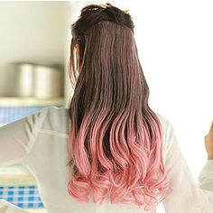 Long Full Wig - Gradient Wavy from #YesStyle <3 Pin Show YesStyle.com