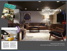 Featured Article in Decorations Singapore Magazine,FALL 2015 Global Home, Fall 2015, Design Projects, Singapore, Flat Screen, Decorations, Magazine, Interior Design, Blood Plasma