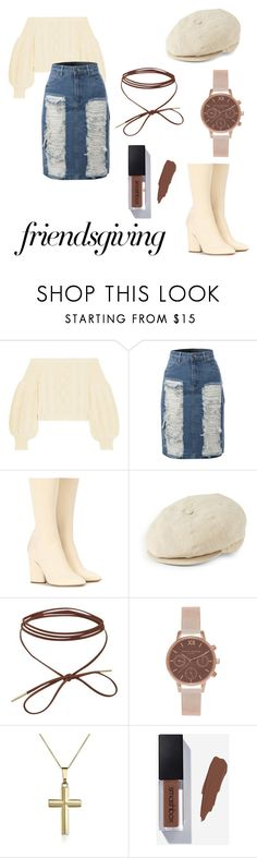 """""""I'm tired again"""" by consume-broccoli on Polyvore featuring Valentino, LE3NO, Yeezy by Kanye West, Hickey Freeman and Olivia Burton"""