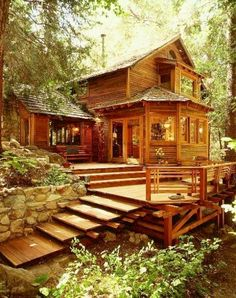 Viewing log cabins like these will put hair on your chest (36 Photos)