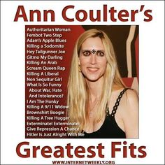Ann Coulter greatest hits