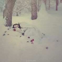 Tales of Color - amazing photography by Anka Zhuravleva, a talented photographer from Russia. More photography by Anka Zhuravleva Fantasy Photography, Amazing Photography, Snow White Photography, Fantasy World, Fantasy Art, Fairytale Fantasies, Winter's Tale, Deviantart, Faeries