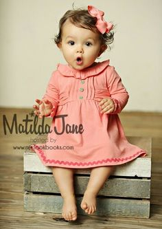 Matilda Jane - Friends Forever R3 - Philomena Dress and Diaper Cover - 6-12m ❤️❤️❤️
