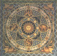 Mozaïek van Cuypers: de vloer van het koor van de Munsterkerk.