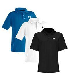 Under Armour Boys Performance Polo Shirt - http://www.golfonline.co.uk/under-armour-boys-performance-polo-shirt-p-6673.html