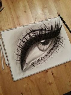 Eye drawing projects to try in 2019 искусство, глаза, рисунок. Amazing Drawings, Beautiful Drawings, Cool Drawings, Amazing Art, Pencil Art Drawings, Art Drawings Sketches, Realistic Eye Drawing, Drawing Eyes, Art Et Design